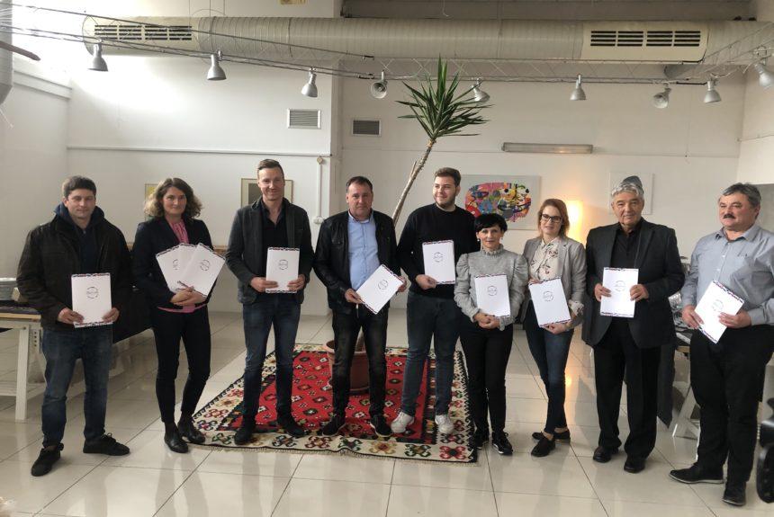 Ocenjevanje vin za 22. Slovenski festival vina (SFV) 2019
